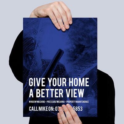 Gomie Print a5 Flyer Design